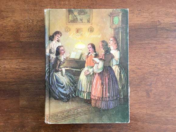 Little Women by Louisa May Alcott, Illustrated Junior Library, Vintage 1992