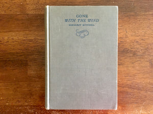 Gone With the Wind by Margaret Mitchell, Vintage 1936, Hardcover Book