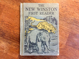 The New Winston First Reader, Hardcover Book, Vintage 1928, Illustrated