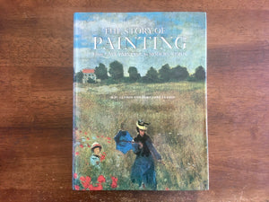 The Story of Painting: From Cave Paintings to Modern Times by H.W. Janson and Dora Jane Janson, Vintage, Hardcover Book with Dust Jacket, Illustrated
