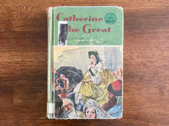 Catherine the Great by Katharine Scherman, Landmark Book, 1957, 1st Printing
