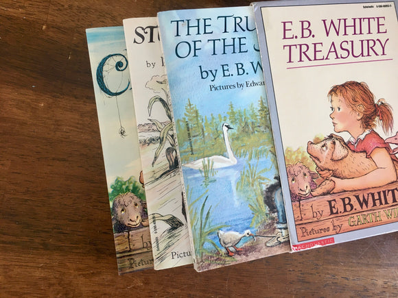 E.B. White Treasury, Illustrated by Garth Williams and Edward Frascino, Vintage 1952, 1970, 1973