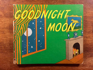 Goodnight Moon by Margaret Wise Brown, Vintage 1947, Hardcover Book, Vintage