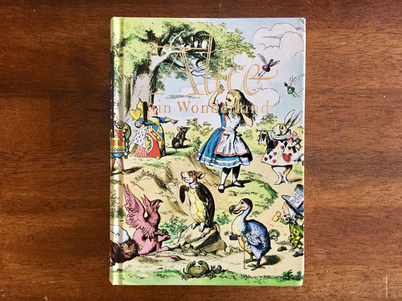 Alice in Wonderland and Through the Looking Glass by Lewis Carroll, Illustrated by John Tenniel, Illustrated Junior Library, Hardcover Book
