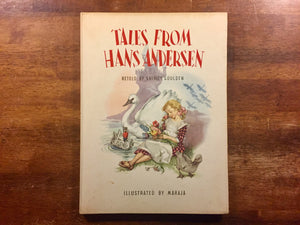 Tales from Hans Andersen retold by Shirley Goulden, Illustrated by Maraja, Vintage, Hardcover Book