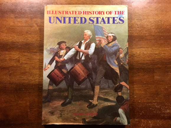 Illustrated History of the United States by Sherry Marker, Vintage 1988, Portland House, Hardcover Book with Dust Jacket