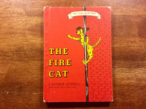 The Fire Cat by Esther Averill, Vintage 1960, Hardcover Book, Illustrated