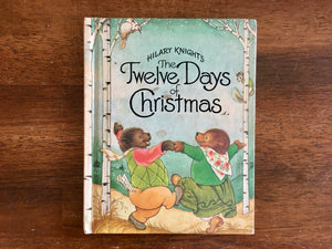 Hilary Knight's The Twelve Days of Christmas, 1981, Illustrated, Weekly Reader