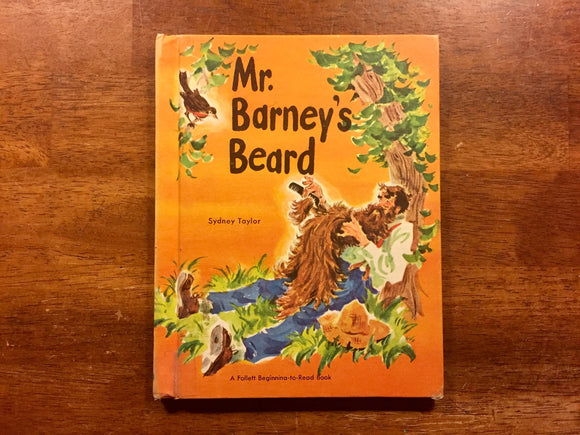 Mr. Barney's Beard by Sydney Taylor, Illustrated by Charles Geer, Vintage 1961, Hardcover Book, Illustrated