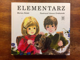 Elementarz by Falski, Hardcover, Vintage, Learn-to-Read Polish book