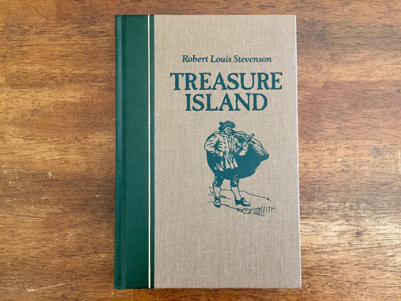 Treasure Island by Robert Louis Stevenson, Reader's Digest Edition, Illustrated by Frank Godwin, Vintage 1987