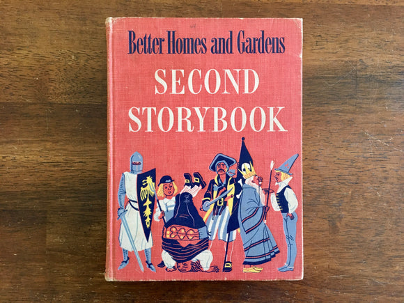 Better Homes and Gardens Second Storybook, Treasury of Stories, Vintage 1952