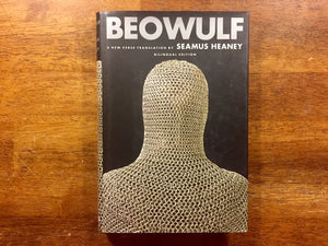 Beowulf translated by Seamus Heaney, Bilingual Edition, Hardcover Book with Dust Jacket