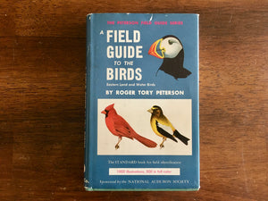 A Field Guide to the Birds, Eastern Land and Water Birds, Roger Tory Peterson