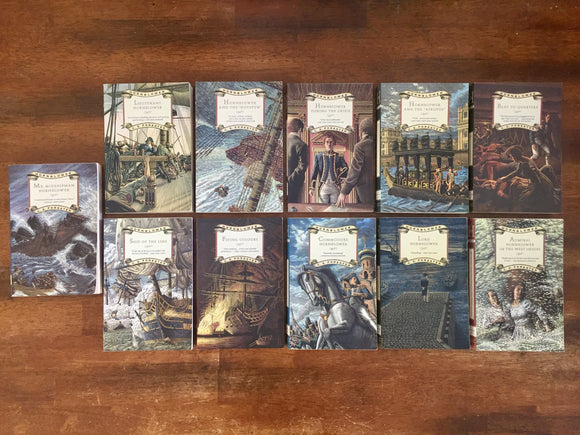 Horatio Hornblower Series, Books #1-11, by C.S. Forester