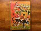 The Jungle Books by Rudyard Kipling, Illustrated by Tibor Gergely, Vintage 1963, Hardcover Book