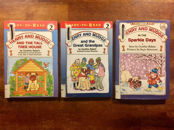 Henry and Mudge Bundle of 3 Books, By Cynthia Rylant, Hardcover