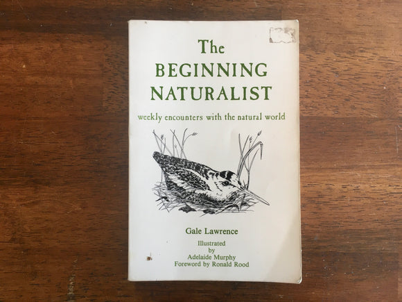 The Beginning Naturalist: Weekly Encounters with the Natural World by Gale Lawrence