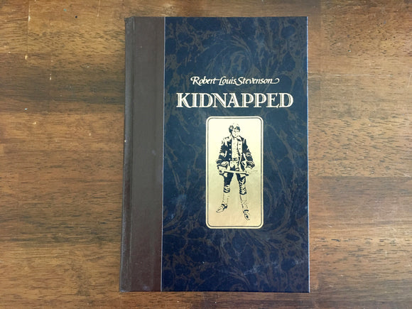 Kidnapped by Robert Louis Stevenson, Illustrated by Frank Godwin, Reader's Digest Edition, Vintage 1986, Hardcover Book,