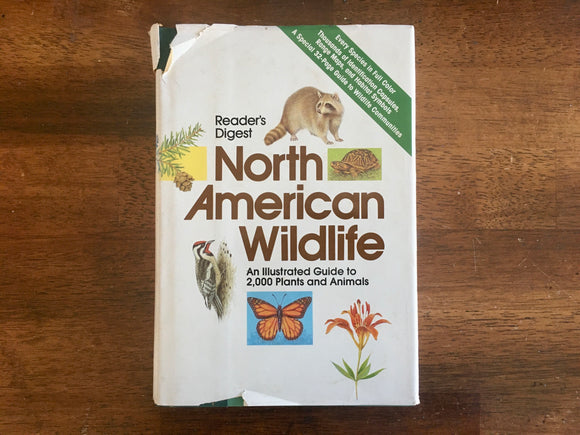 Reader's Digest North American Wildlife, Vintage 1982, Hardcover Book with Dust Jacket, Illustrated