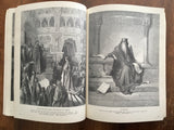 The Dore Bible Illustrations, 241 Plates by Gustave Dore, Vintage 1974
