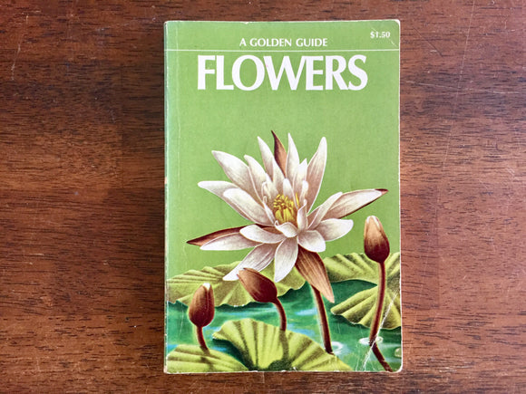 Flowers, A Golden Guide, Vintage 1950