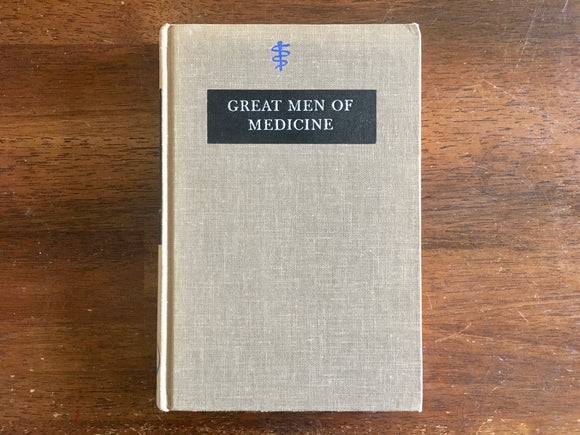 Great Men of Medicine by Ruth Fox Hume, Landmark Book, Vintage 1961