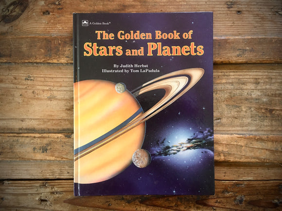 The Golden Book of Stars and Planets, HC, Space, Science, Illustrated