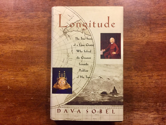 Longitude by Dava Sobel, Hardcover with Dust Jacket