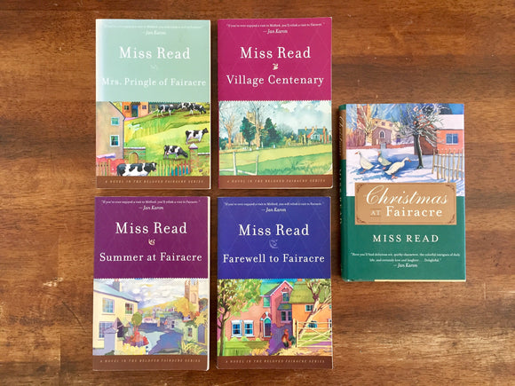 Miss Read Books, Lot of 5