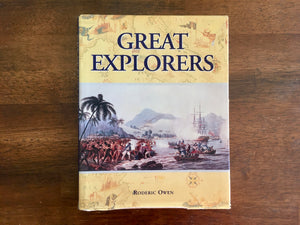 Great Explorers by Roderic Owen, Vintage 1995, HC Dj