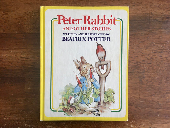Peter Rabbit and Other Stories by Beatrix Potter, Vintage 1977, Hardcover Book, Illustrated