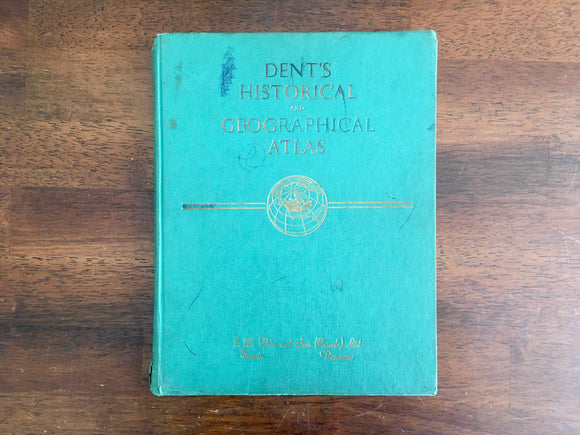 Dent's Historical and Geographical Atlas, Vintage 1959, HC