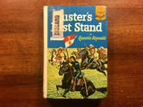 Custer's Last Stand by Quentin Reynolds, Landmark Book, Vintage 1951