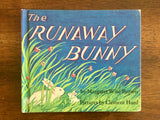 Runaway Bunny by Margaret Wise Brown, Vintage 1972, Pictures by Clement Hurd