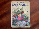 A Child's Garden of Verses by Robert Louis Stevenson. Illustrated by Gyo Fujikawa. Hardcover Book. Vintage 1957.