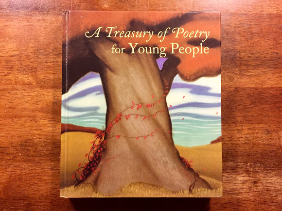 A Treasury of Poetry for Young People, Illustrated, Hardcover Book