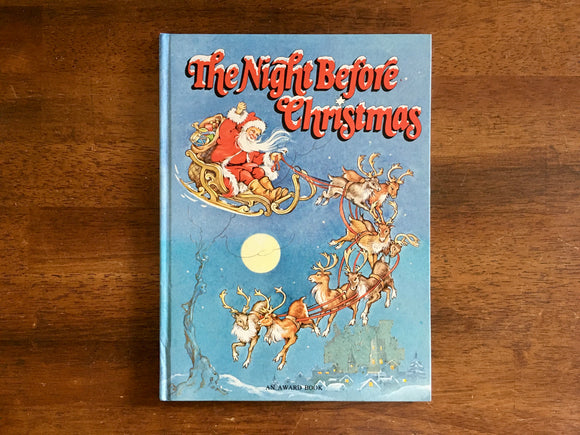 The Night Before Christmas by Clement C Moore, Illustrated by Rene Cloke, HC