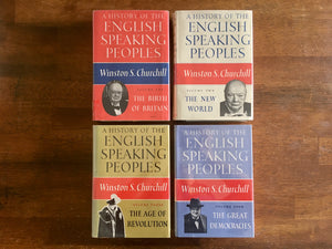 A History of the English Speaking Peoples, 4-Volume Set by Winston Churchill