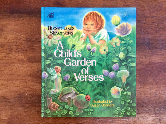 A Child's Garden of Verses by Robert Louis Stevenson, Illustrated, 1978, HC