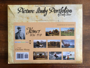 Simply Charlotte Mason, Picture Study Portfolio by Emily Kiser, Homer, Booklet and 8 Art Posters