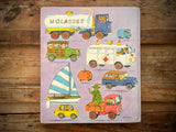 Richard Scarry's Cars and Trucks and Things That Go, Hardcover Book, 1981