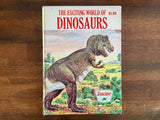 The Exciting World of Dinosaurs by John Raymond, Sinclair, Child Guide Publications, Vintage 1963, Hardcover Book, Illustrated