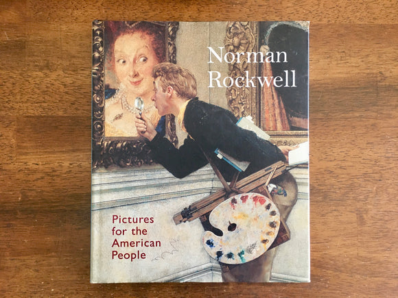 Pictures for the American People, Norman Rockwell, HC DJ, Art Museum