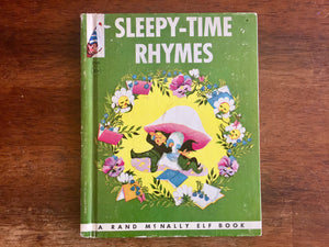 Sleepy-Time Rhymes, Hardcover Book, Vintage 1964, Illustrated