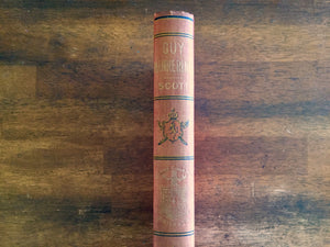 Guy Mannering by Sir Walter Scott, Watch Weel Edition, Antique 1900, Illustrated