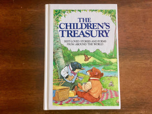The Children's Treasury, Hardcover Book, Vintage 1987, Illustrated