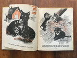 Smoky by Nancy Raymond, Pictures by Dirk, Vintage 1945, HC, Cat Story