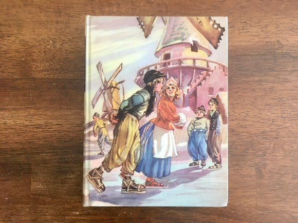 Hans Brinker or The Silver Skates by Mary Mapes Dodge, Illustrated Junior Library