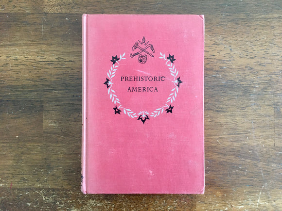 Prehistoric America by Anne Terry White, Landmark Book, Vintage 1951, 1st Printing